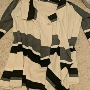 Ann Taylor Loft color block sweater